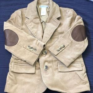 Boys corduroy tan jacket